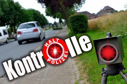 Polizeikontrolle Blitzer
